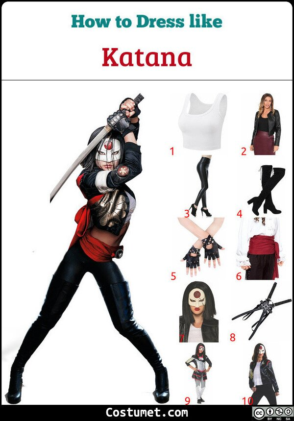 Katana Costume for Cosplay & Halloween