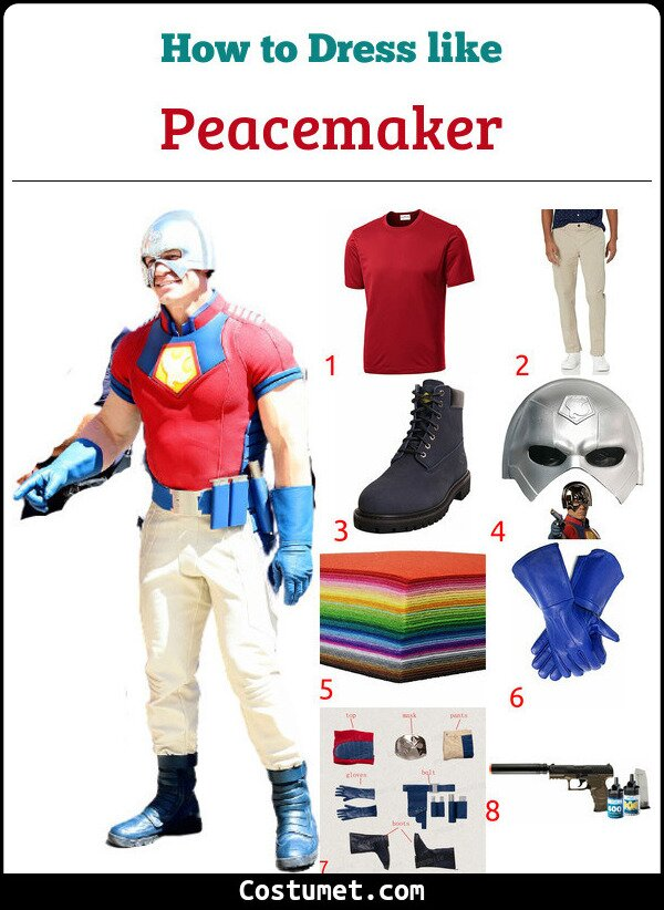 Peacemaker Costume for Cosplay & Halloween