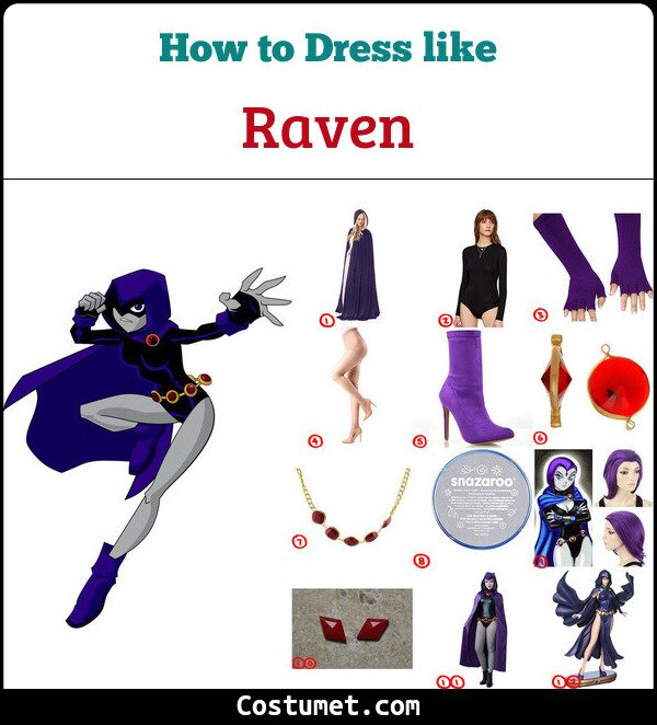 Raven Cosplay & Costume Guide