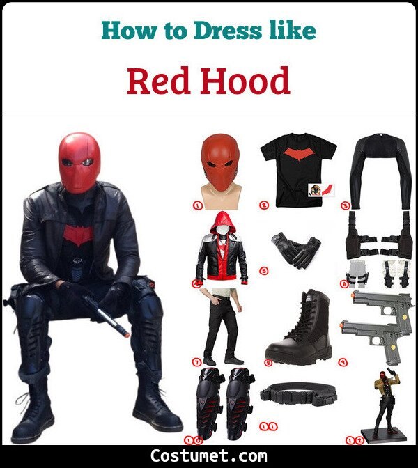 Red Hood Cosplay & Costume Guide