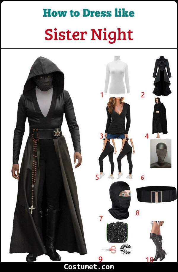 Sister Night Costume for Cosplay & Halloween