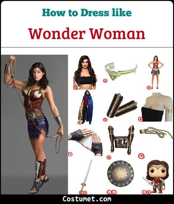 Wonder woman Cosplay & Costume Guide