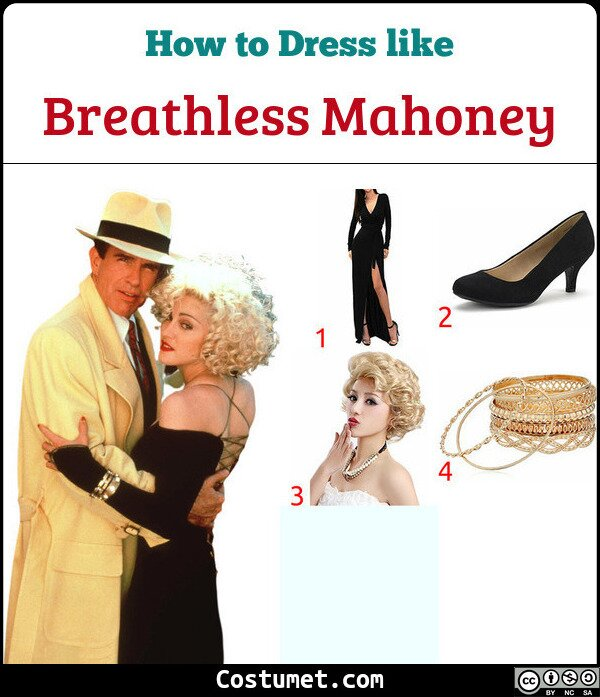 Breathless Mahoney Costume for Cosplay & Halloween