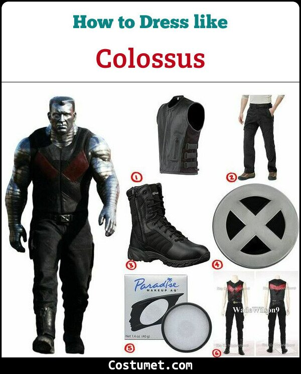 Colossus Costume for Cosplay & Halloween