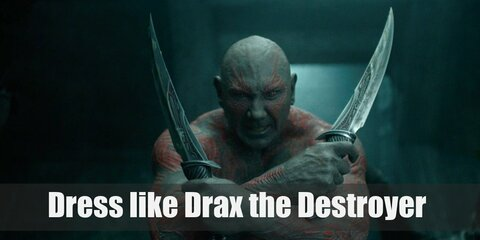Dress Like Drax The Destroyer Costume