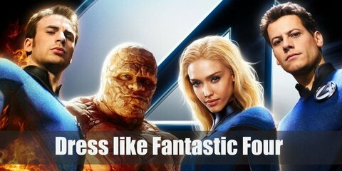 The Fantastic Four Costume