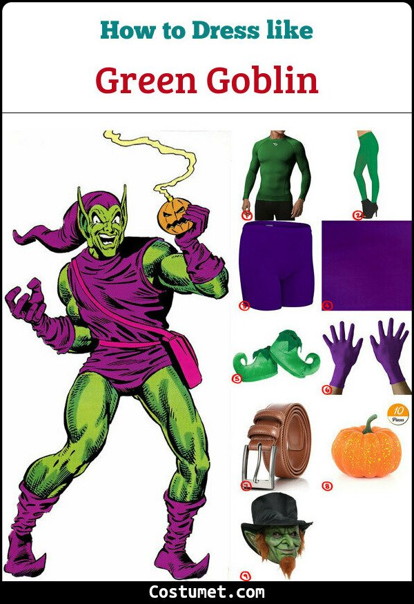 Green Goblin Cosplay & Costume Guide