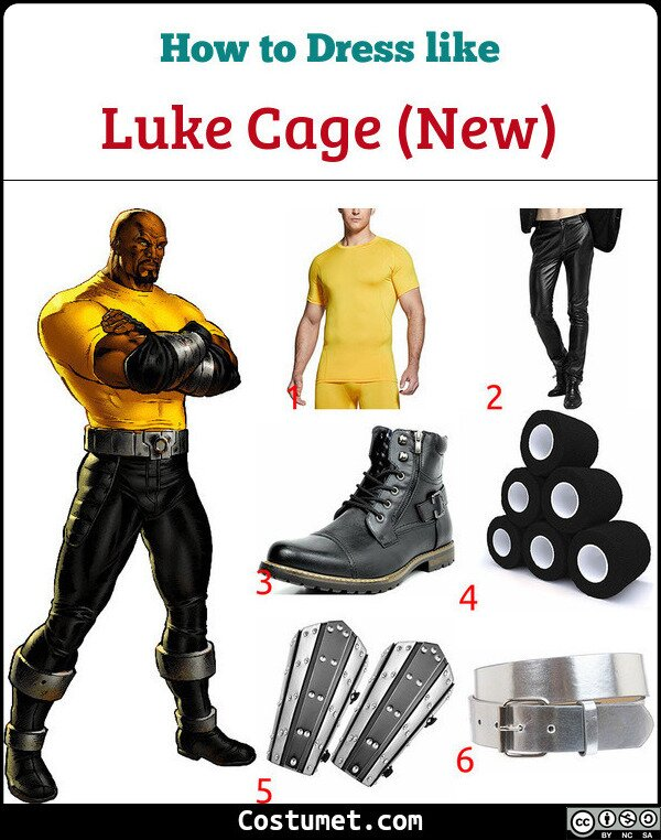 Luke Cage (New) Costume for Cosplay & Halloween
