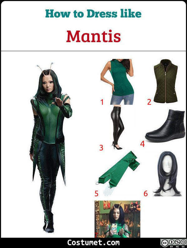 Mantis Costume for Cosplay & Halloween