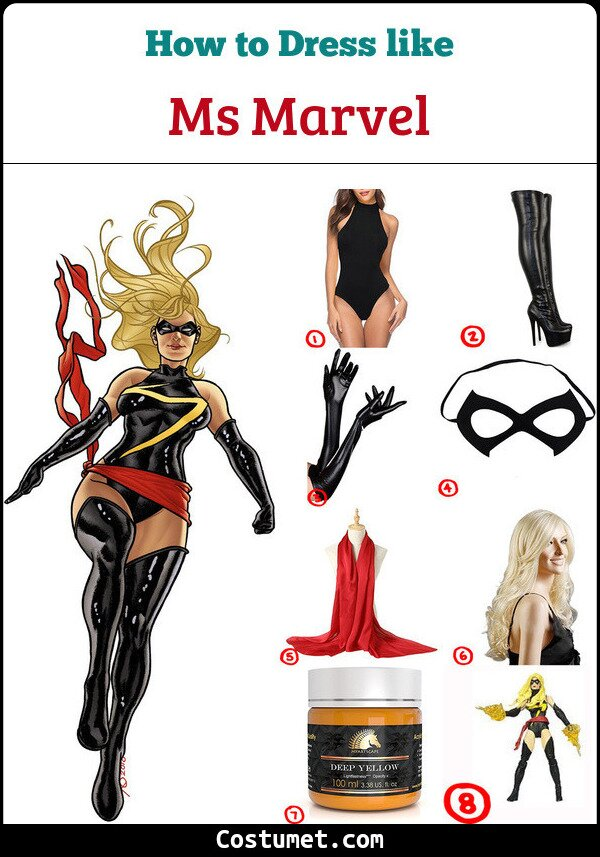 Ms Marvel Cosplay & Costume Guide