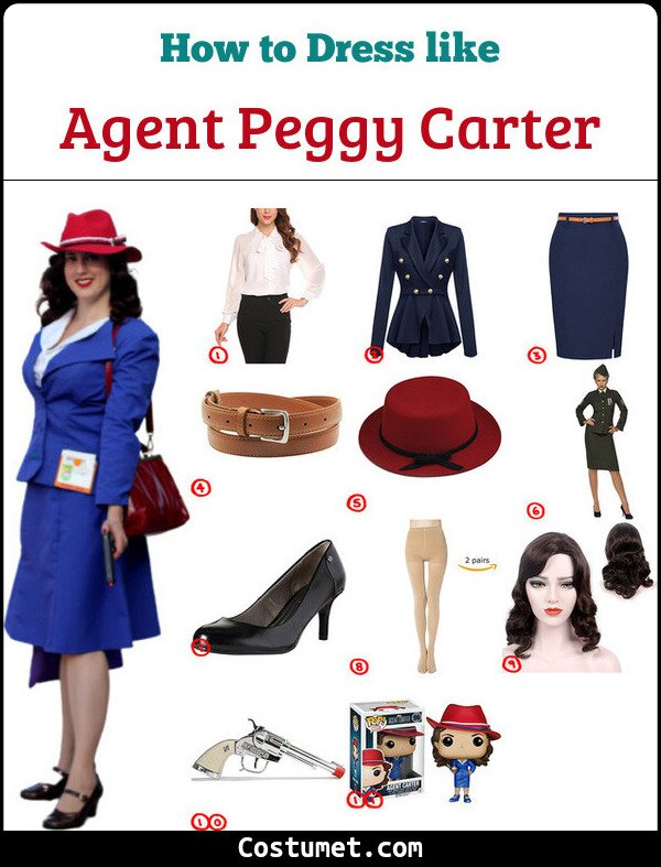 Agent Peggy Carter Cosplay & Costume Guide