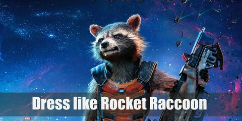 Rocket Raccoon (Guardians of the Galaxy) Costume