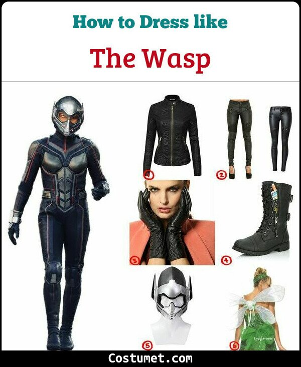 The Wasp Cosplay & Costume Guide