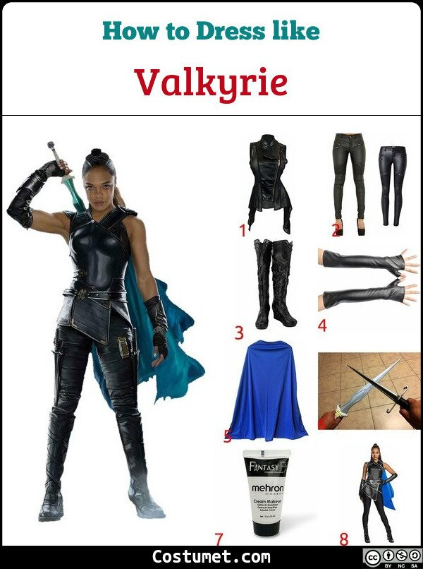 Valkyrie Costume for Cosplay & Halloween