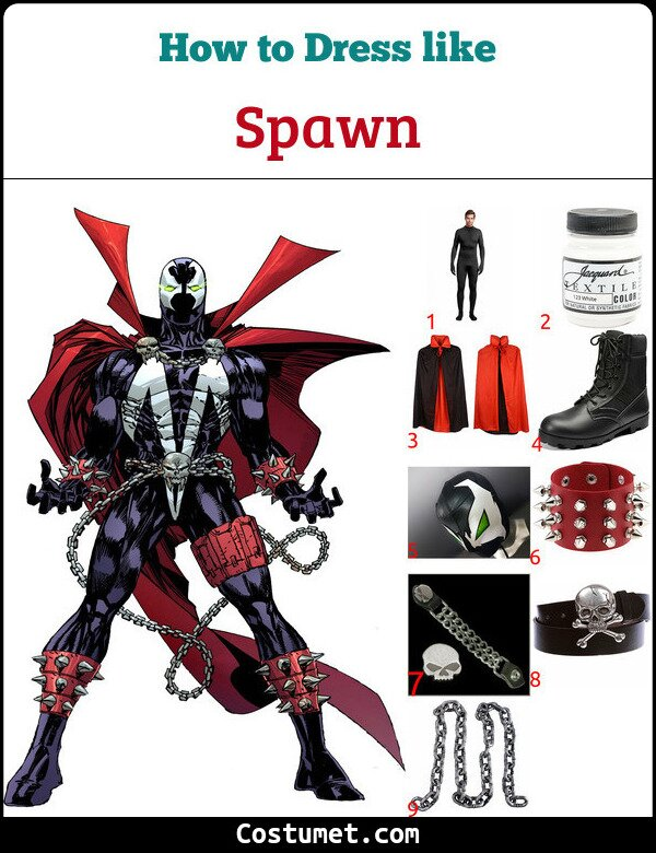 Spawn Costume for Cosplay & Halloween