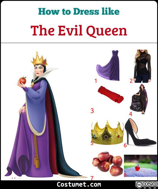 The Evil Queen Costume for Cosplay & Halloween