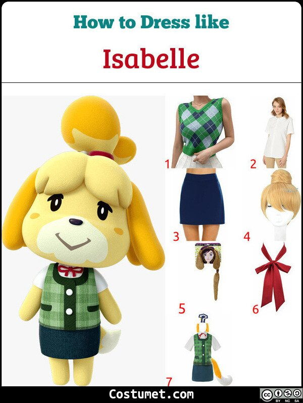 Isabelle Costume for Cosplay & Halloween