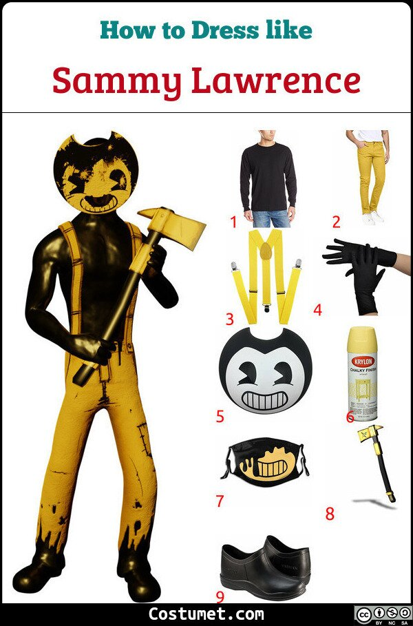 Sammy Lawrence Costume for Cosplay & Halloween