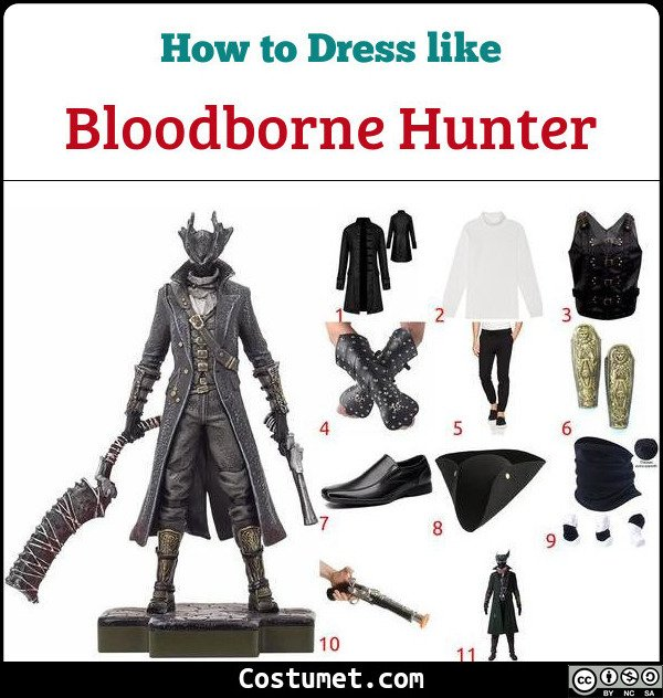 Bloodborne Costume for Cosplay & Halloween