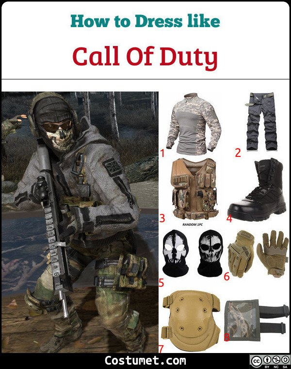 Call Of Duty Costume for Cosplay & Halloween