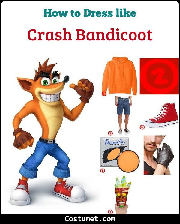 Crash Bandicoot Cosplay & Costume Guide