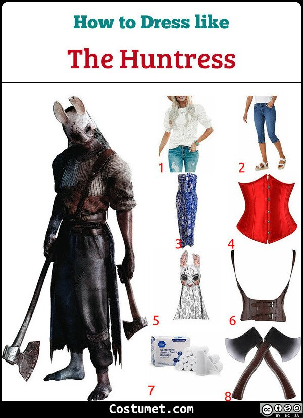 The Huntress Costume for Cosplay & Halloween
