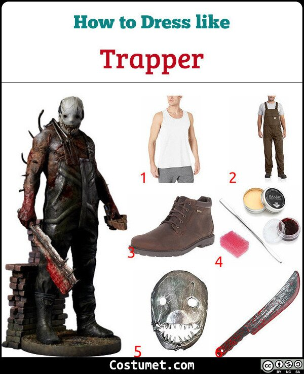 Trapper Costume for Cosplay & Halloween