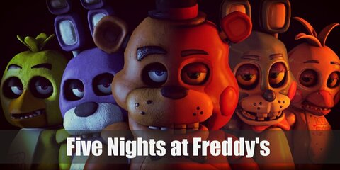 Five Nights at Freddy's darling mascots are Freddy, Foxy, Bonnie, and Chica. Just make sure to lock yourself away from them during the night, or their Nightmare versions might just be the last thing you'll ever see.
