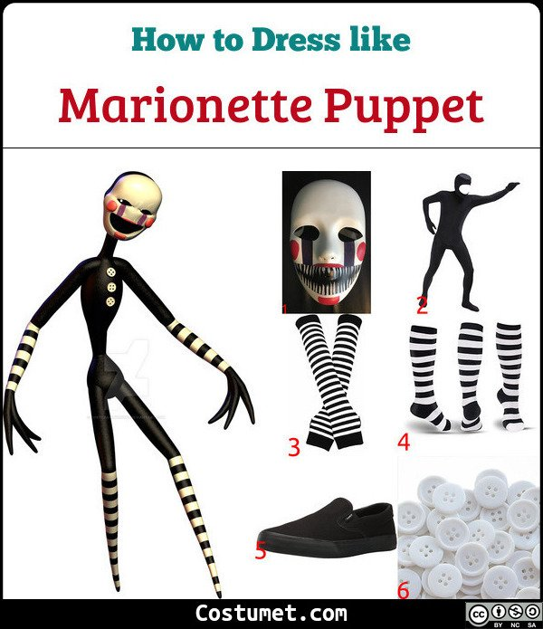 Puppet Master Costume for Cosplay & Halloween