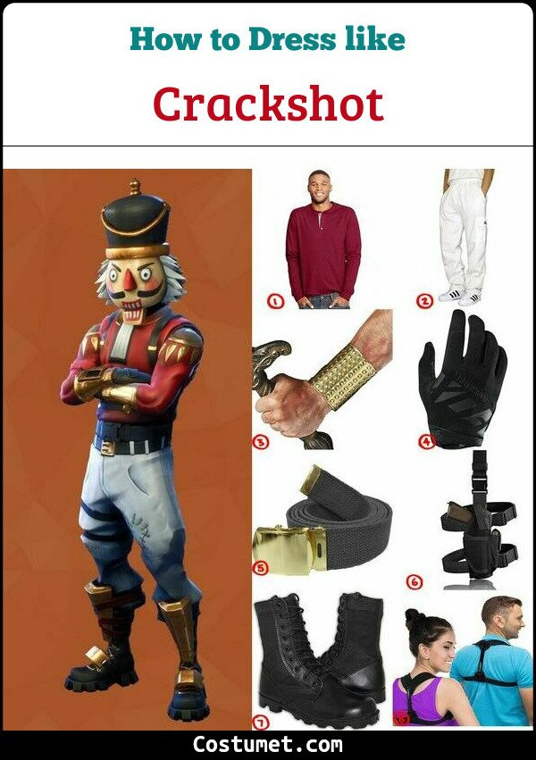 Crackshot Costume for Cosplay & Halloween