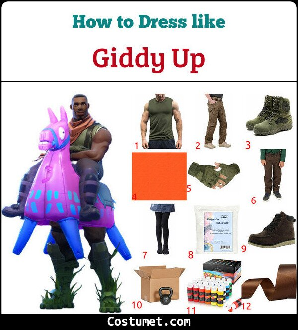 Giddy Up Costume for Cosplay & Halloween