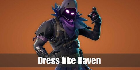 Raven (Fortnite) Costume