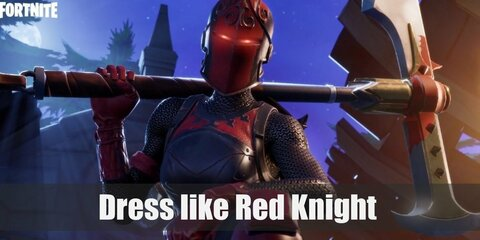 Red Knight (Fortnite) Costume