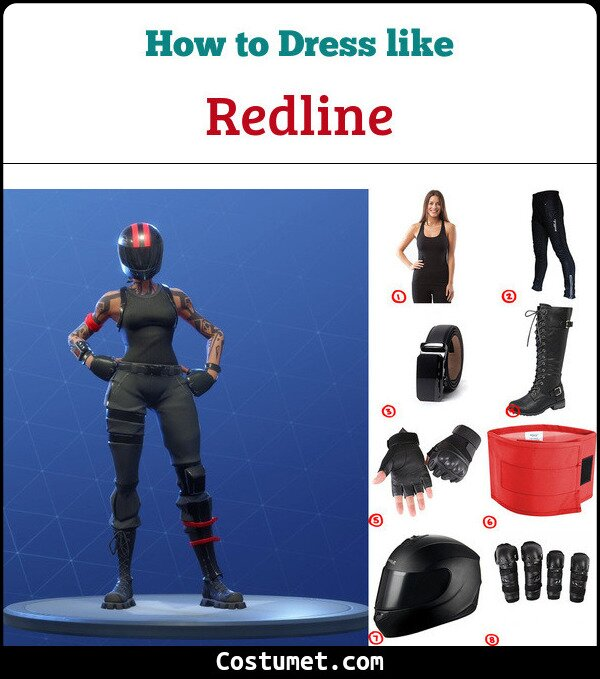 Redline Costume for Cosplay & Halloween
