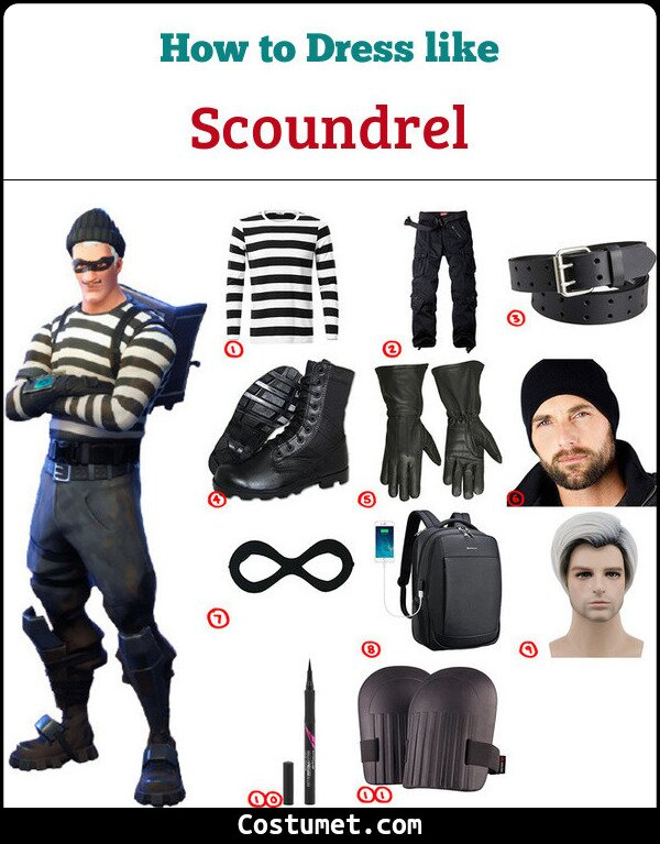 Scoundrel Costume for Cosplay & Halloween