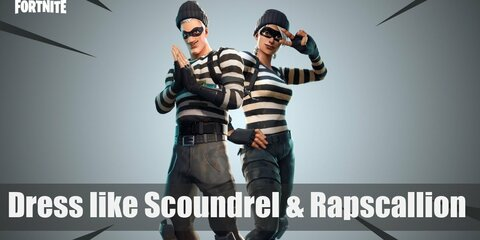 Scoundrel & Rapscallion (Fortnite) Costume