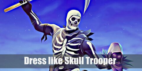 Skull Trooper (Fortnite) Costume