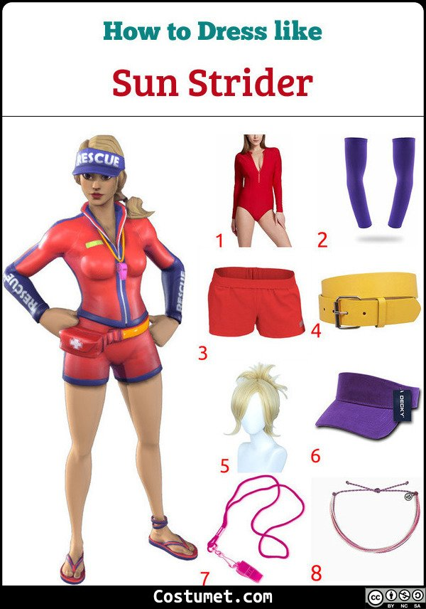 Sun Strider Costume for Cosplay & Halloween