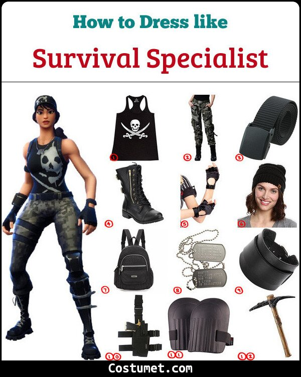 Survival Specialist Costume for Cosplay & Halloween