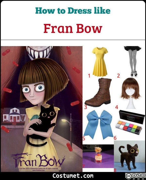 Fran Bow Costume for Cosplay & Halloween