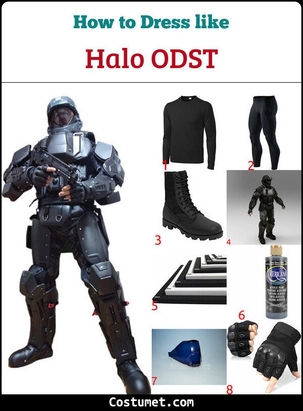 Halo ODST Costume for Cosplay & Halloween