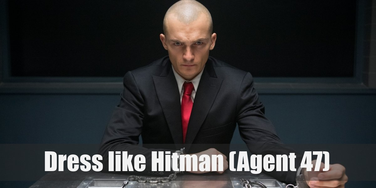 Agent 47 Hitman Costume For Cosplay Halloween