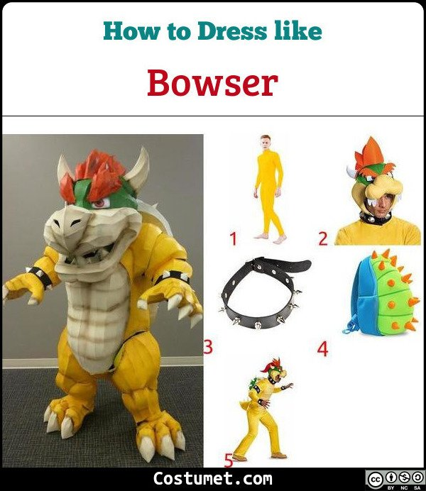 Bowser Costume for Cosplay & Halloween
