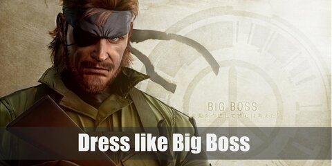Big Boss Costume