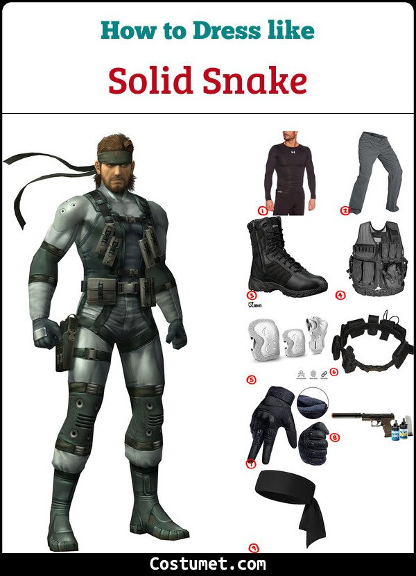 Solid Snake Cosplay & Costume Guide