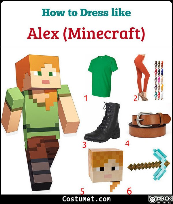 Alex Costume for Cosplay & Halloween
