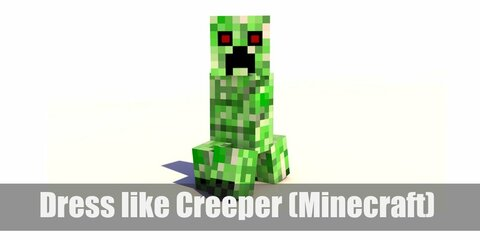 Creeper (Minecraft) Costume