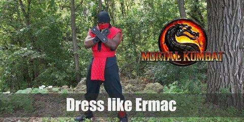 Mortal Kombat's Ermac Costume