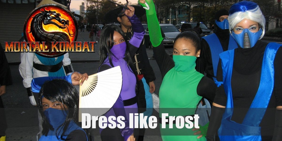 Mortal Kombat S Frost Costume For Cosplay Halloween 2020