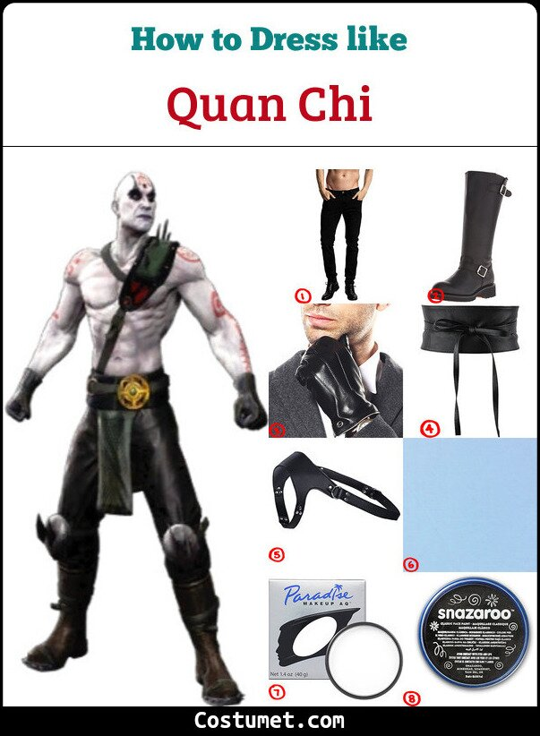 Quan Chi Cosplay & Costume Guide